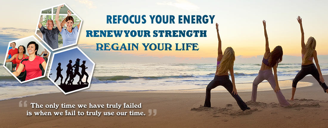 Weight Crafters Fat Camp for Adults - Refocus your energy. Renew your strength. Regain your life. 'The only time we have truly failed is when we fail to truly use our time.' Click here to learn more about our weight loss programs and fitness camp.